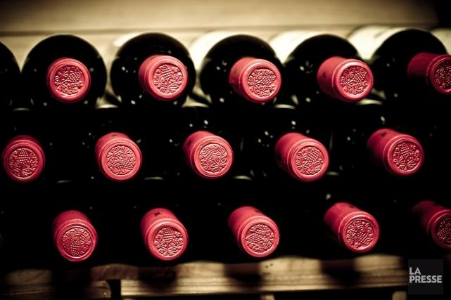 Les libéraux souhaitent également permettre aux vignerons québécois... (PHOTOTHÈQUE LA PRESSE)