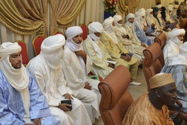 Les négociations prévues aujourd'hui entre les autorités maliennes... (PHOTO AHMED OUOBA, Archives AFP)