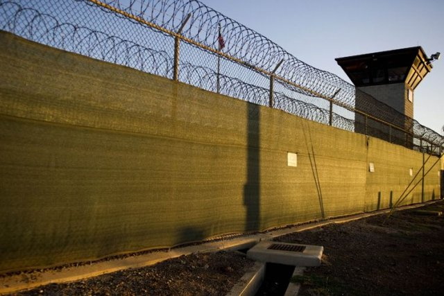 Un nombre croissant de détenus mènent depuis quatre... (Photo: AFP)
