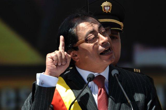 Le maire de Bogota, Gustavo Petro.... (PHOTO GUILLERMO LEGARIA, AFP)
