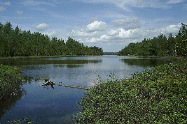 Le parc national du Lac-Témiscouata.... (PHOTO FOURNIE PAR LA SÉPAQ)