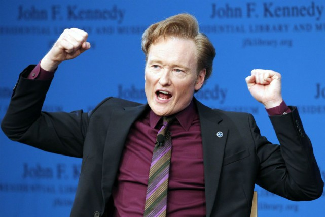 Conan O'Brien... (Archives AP)