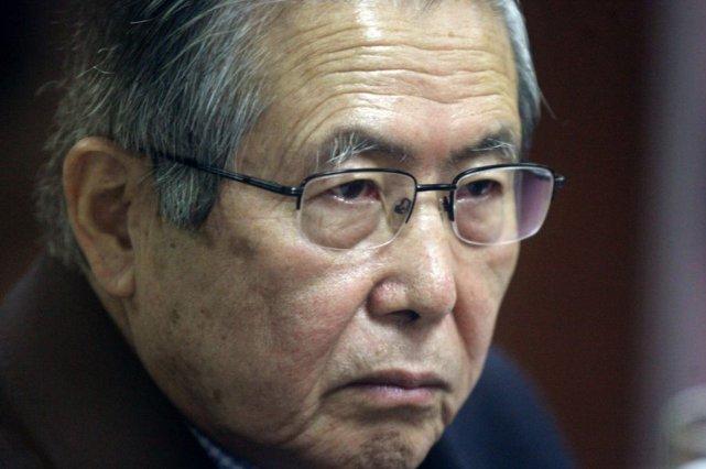 L'ancien président péruvien Alberto Fujimori.... (MARIANA BAZO)