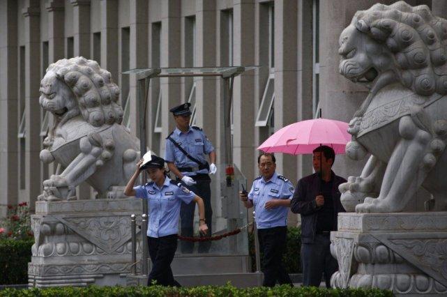 Le palais de justice oùLiu Huia été condamné... (PHOTO PETAR KUJUNDZIC, REUTERS)