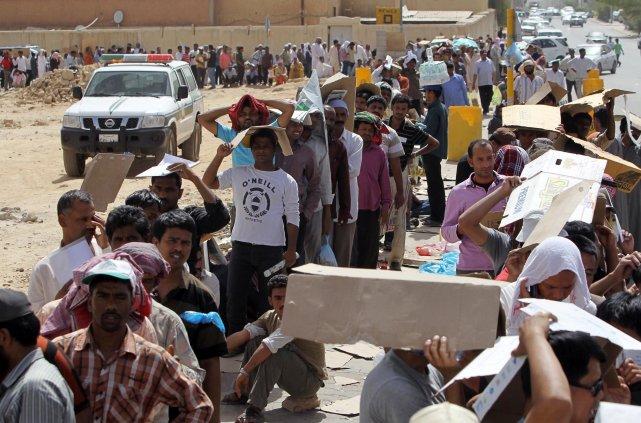 L'Arabie saoudite compte 8 millions de travailleurs étrangers... (PHOTO FAISAL AL NASSER, REUTERS)
