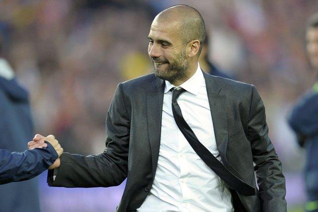 Pep Guardiola, 42 ans, dirigera son premier entraînement... (Photo: archives AFP)