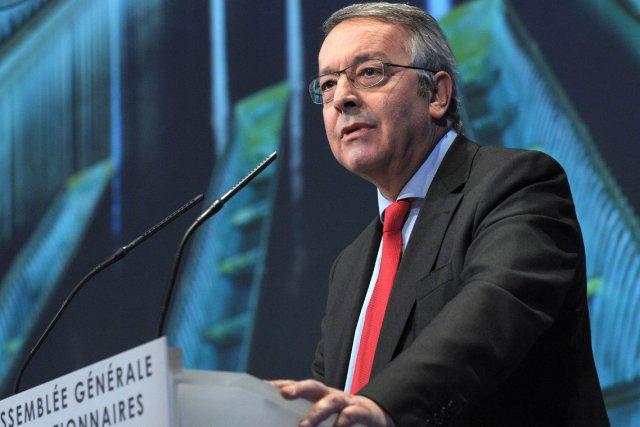 LePDG de Veolia, Antoine Frérot.... (PHOTO ERIC PIERMONT, AFP)