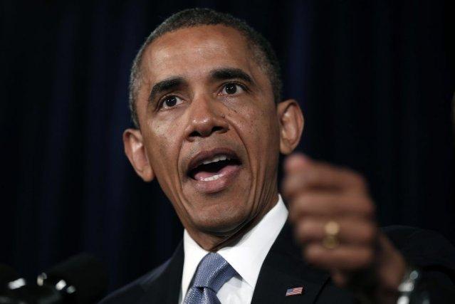 Barack Obama a réagi pour la première fois... (Photo: Reuters)