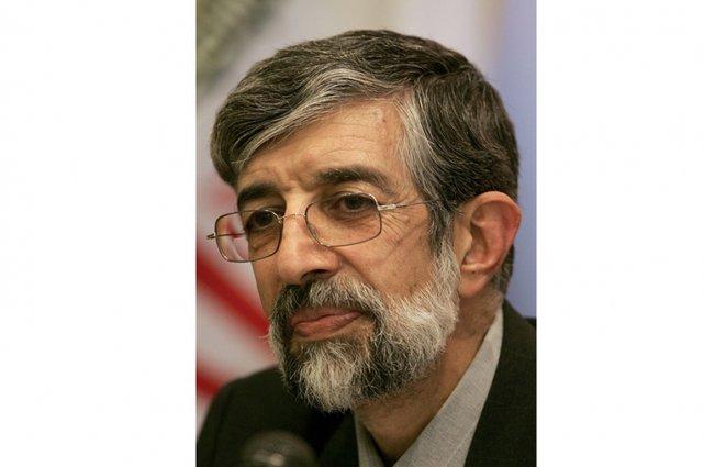 L'un des cinq candidats conservateurs à la présidentielle iranienne, Gholam-Ali... (Photo AFP)
