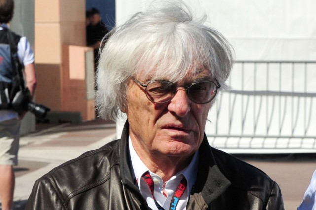 Bernie Ecclestone exerce sur la Formule 1 un... (Photo Tom Gandolfini, AFP)