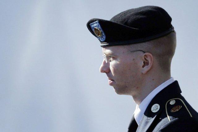 La taupe de WikiLeaks Bradley Manning.... (PHOTO PATRICK SEMANSKY, AP)