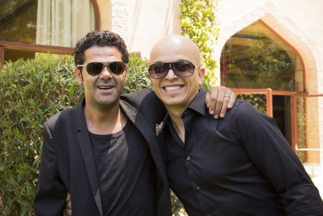 Jamel debbonze et Rachid Badouri... (Photo: Ninon Pednault, La Presse)