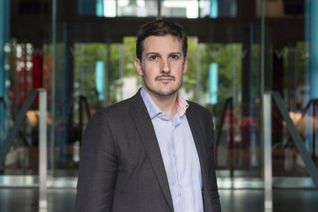 Marc Duquette a fondé en février dernier son... (Photo Olivier Pontbriand, La Presse)
