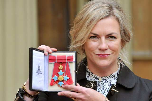 La créatrice britannique Emma Hill.... (PHOTO AFP)
