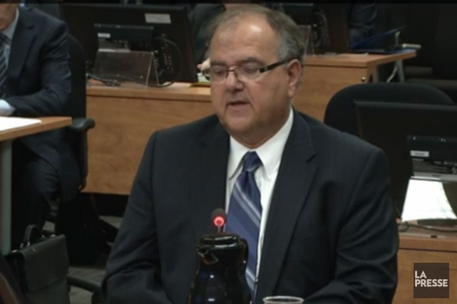 L'ex-conseiller municipal Richard Goyer.... (Photo tirée de la vidéo)
