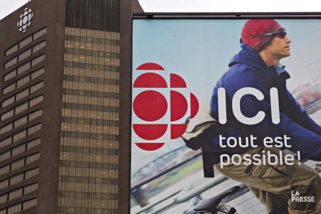 «Ici» n'éclipsera pas «Radio-Canada».La Société Radio-Canada rectifie le tir... (Photo: Olivier Jean, La Presse)