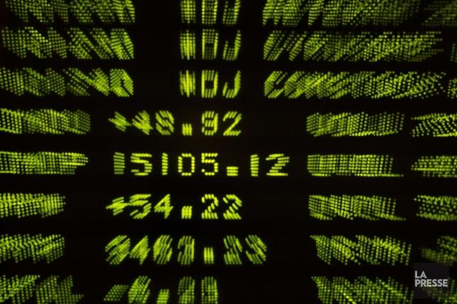 La Bourse de Toronto a terminé la séance de lundi sans grand changement, malgré... (Photo ucas Jackson, archives Reuters)