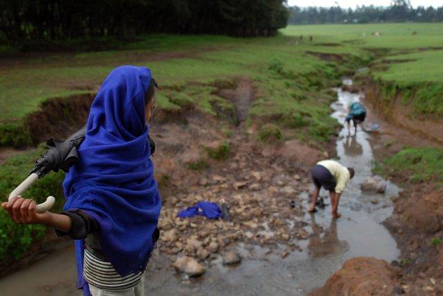 Le Soudan limite fermement l'accès au Nil bleu... (Photo: AFP)