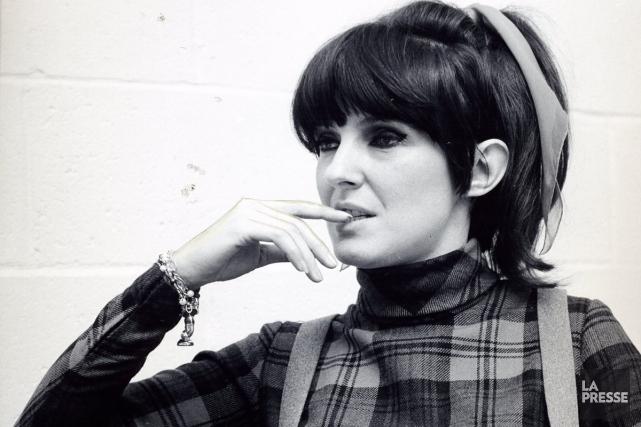 Dominique Michel en avril 1966... (Photo: archives La Presse)