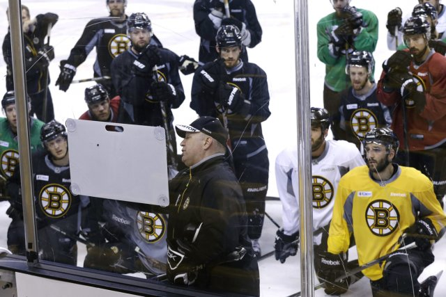 Les Bruins sont une formation équilibrée, dirigée avec... (Photo Elise Amendola, AP)