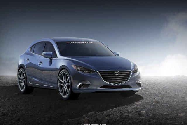 La prochaine génération de la Mazda3 va effacer... (PHOTO CARSCOOPS.COM)