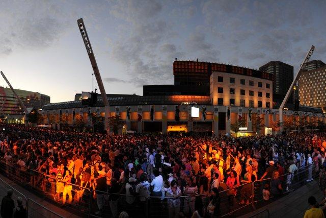Montréal est en plein effervescence.... (Photo Bernard Brault, La Presse)