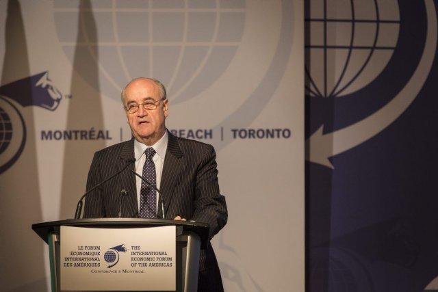 Julian Fantino a indiqué, mardi auForum économique international... (PHOTO OLIVIER PONTBRIAND, LA PRESSE)