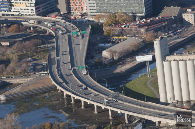 L'autoroute Bonaventure.... (PHOTO IVANOH DEMERS, ARCHIVES LA PRESSE)