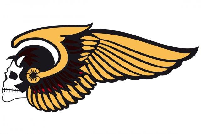 Le logo des Hells Angels....