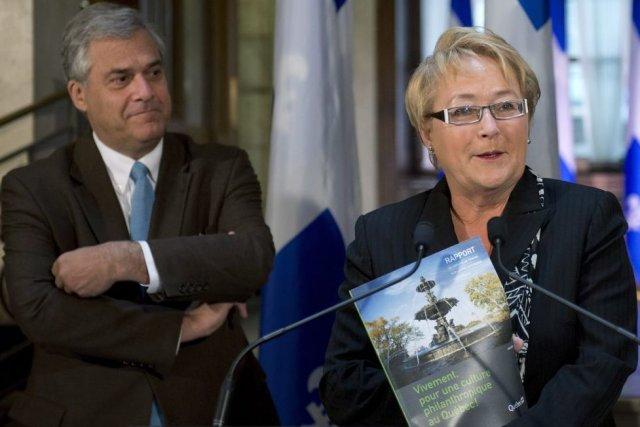 Le Groupe de travail sur la philanthropie culturelle,... (Photo La Presse Canadienne)