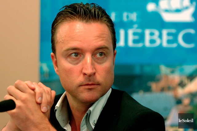 Sébastien Leboeuf... (Photothèque Le Soleil, Jean-Marie Villeneuve)