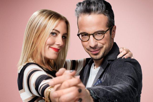 Émilie Perreault et Matthieu Dugal animent ARTVStudio.... (Photo: fournie par ARTV)
