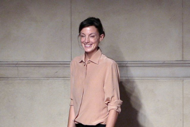 La créatrice britannique Phoebe Philo... (PHOTO FRANCOIS GUILLOT, AFP)