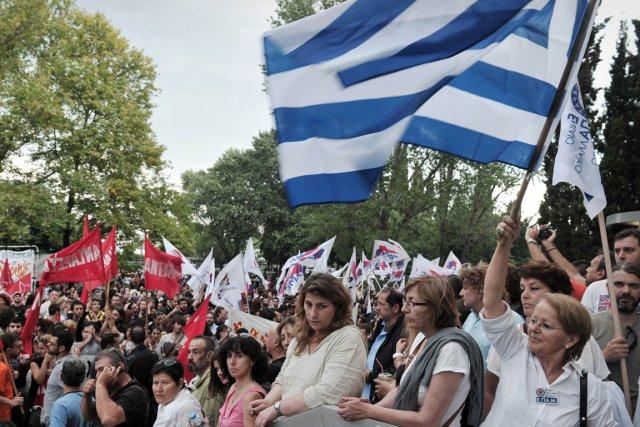 La Grèce devait connaître jeudi une grève générale de 24 heures pour dénoncer... (Photo Sakis Mitrolidis, AP)