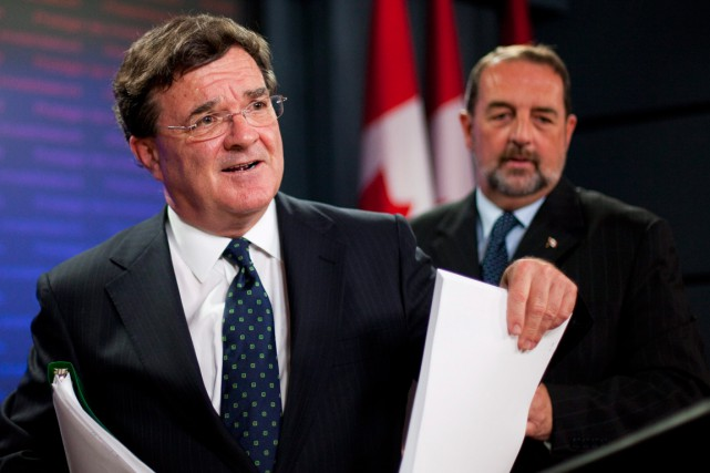 Dans son dernier budget, le ministre des Finances... (Photo d'archives La Presse Canadienne)