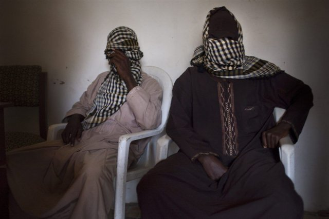 Des membre du groupe Boko Haram.... (Photo The New York Times)