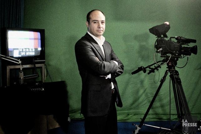 Sam Norouzi, directeur de la station ICI.... (Photo: Marco Campanozzi, archives La Presse)
