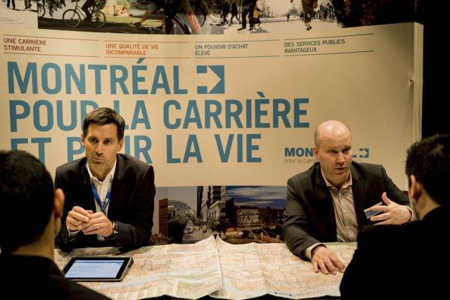 Pour la Banque Laurentienne, BRP et des dizaines de sociétés québécoises, la... (Photo Lionel Charrier, M.Y.O.P.)