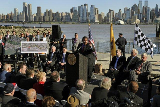 Le gouverneur du New Jersey Chris Christie lors... (PHOTO  TIMOTHY A. CLARY, ARCHIVES AFP)