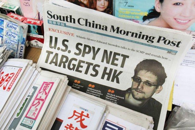 Edward Snowden s'est réfugié à Hong Kong après... (PHOTO BOBBY YIP, REUTERS)