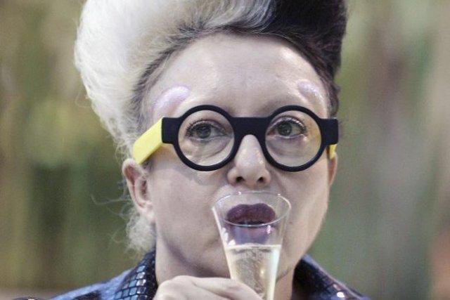 La plasticienne française Orlan... (Photo: archives AFP)