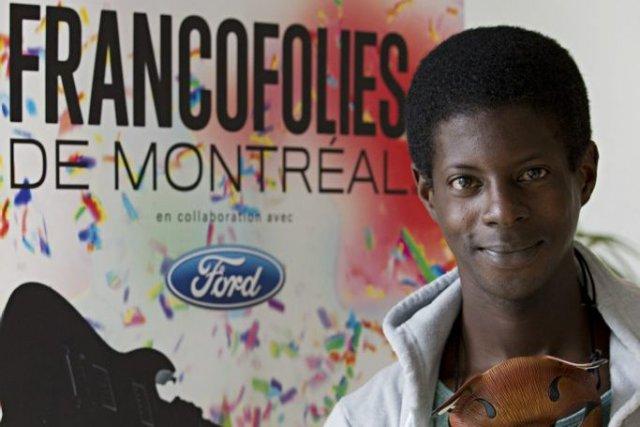 Karim Ouellet a reçu jeudi, dans le cadre des 25es FrancoFolies de Montréal, le... (Photo: Anne Gauthier, La Presse)