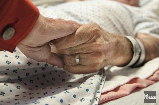 Le gouvernement Marois feint d'ignorer que l'euthanasie active... (Photo archives La Presse)