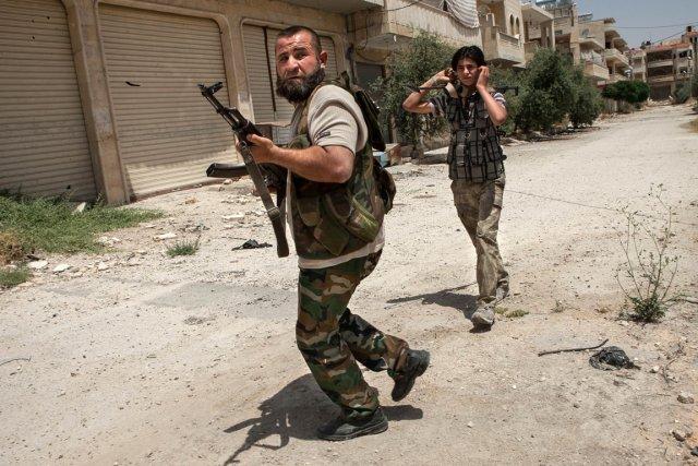 «Il faut mener le jihad pour venir en... (PHOTO DANIEL LEAL-OLIVAS, AFP)