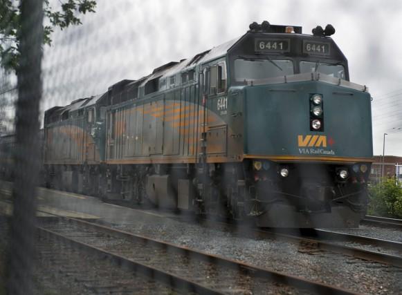 Les créanciers de la Société du chemin de fer de la Gaspésie ont accepté à... (PHOTO ARCHIVES LA PRESSE CANADIENNE)