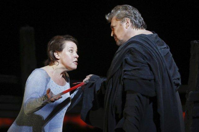 Nina Stemme et Peter Seiffert dans Tristan et... (Photo: AFP)