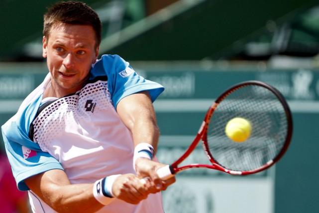 Robin Söderling n'a plus joué en compétition depuis... (Photo archives AFP)
