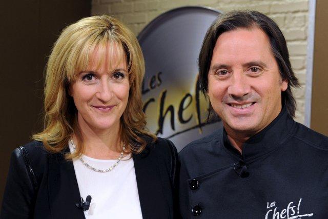 Élyse Marquis et Daniel Vézina à l'émission Les... (Photo: Érick Labbé, Le Soleil)