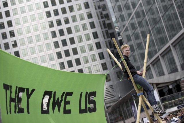 Les gouvernements du G8 se savent vulnérables. Il... (Photo JUSTIN TALLIS, Agence France-Presse)