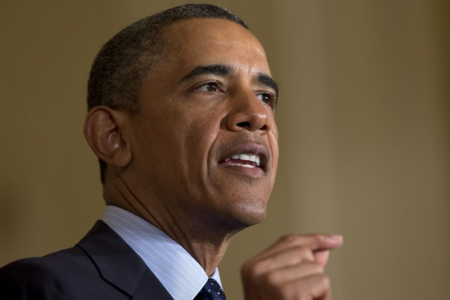 Le président américain Barack Obama a affirmé lundi que la Chine avait... (Photo Evan Vucci, AP)